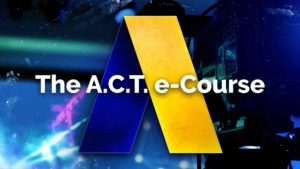 The ACT e-course Product Phot