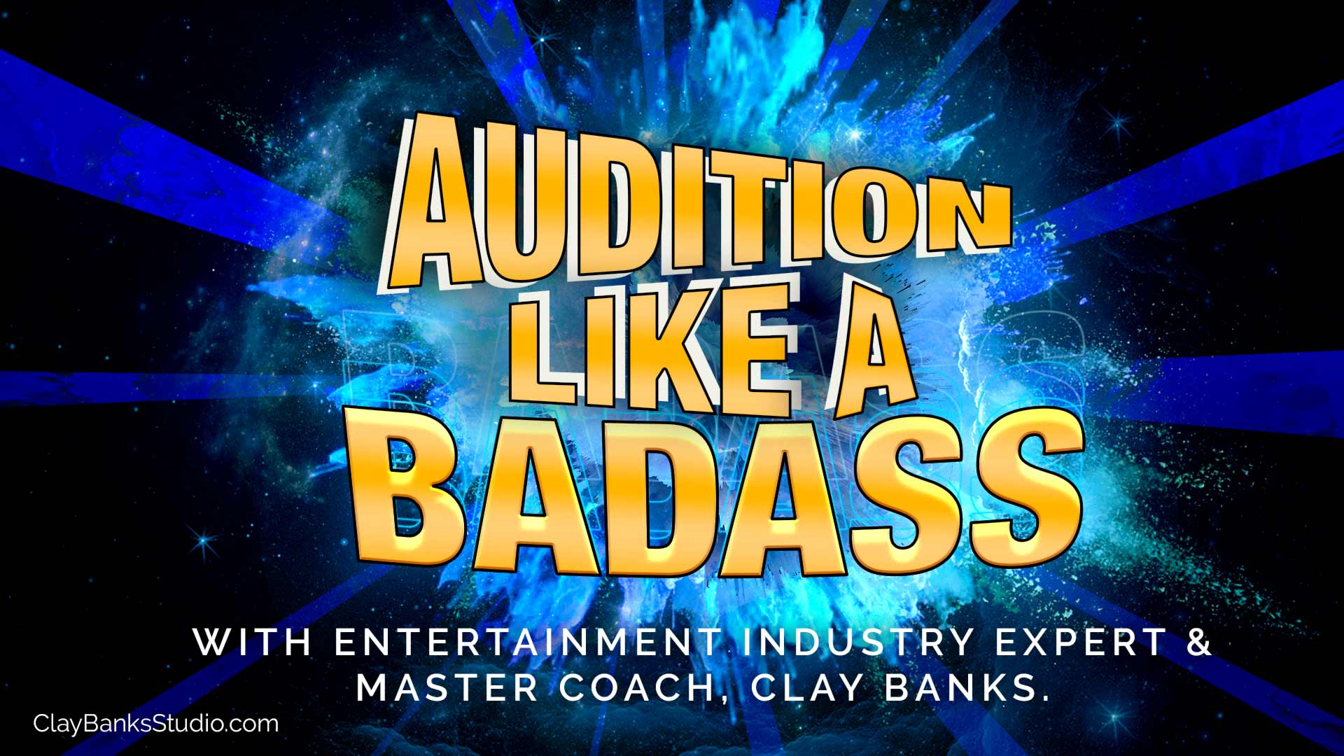 Audition like a badass graphic