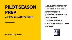 Pilot Season Prep banner