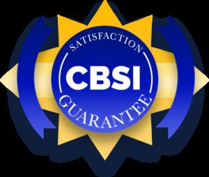cbsi satisfaction guarantee graphic